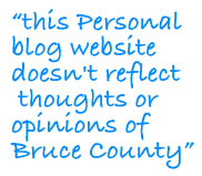 Bruce County, ON thoughts