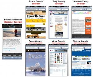 Bruce Grey Simcoe Mobiel Website test