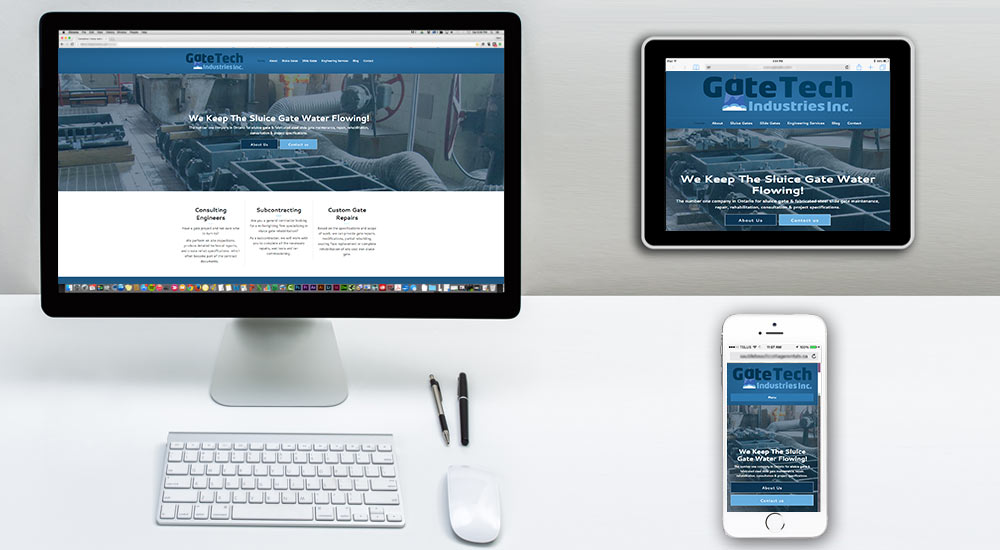 ontario engineering company web design