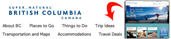 British Columbia Tourism
