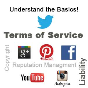 Social Media manager terms of service