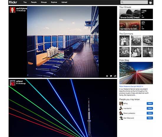 flickr dashboard