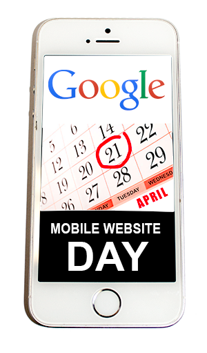 April 21 Google Mobile Website Day