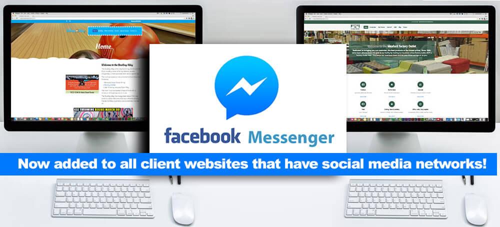 Facebook messenger for WordPress websites