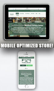 mobile optimized store