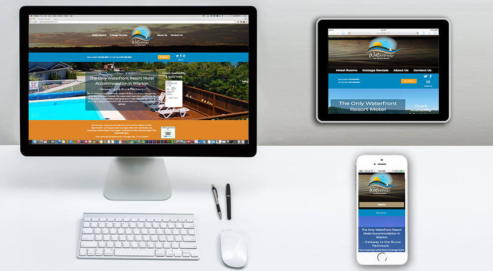Wiarton Motel Web Design