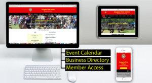 Saugeen First Nation web design 2018