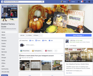 Meaford Factory Outlet Facebook