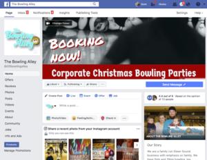 bowlng alley Facebook