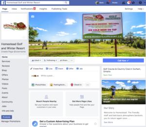 golf course facebook