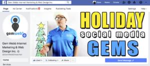 holiday social media gems