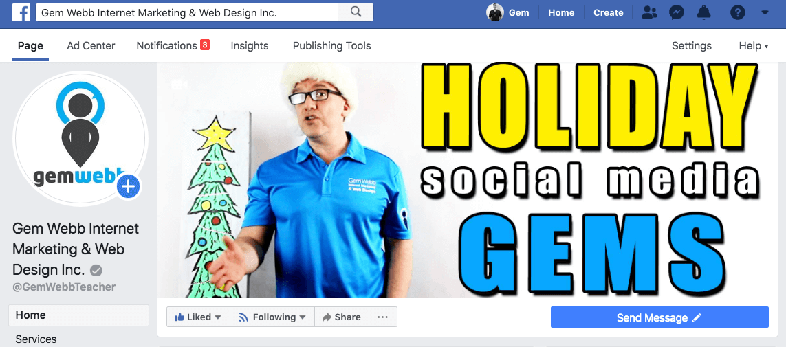 holiday social media gems