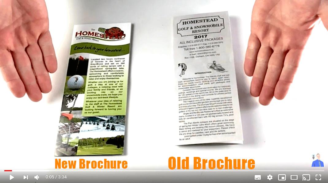 Tourism brochure design