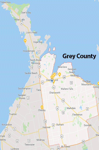 grey county map