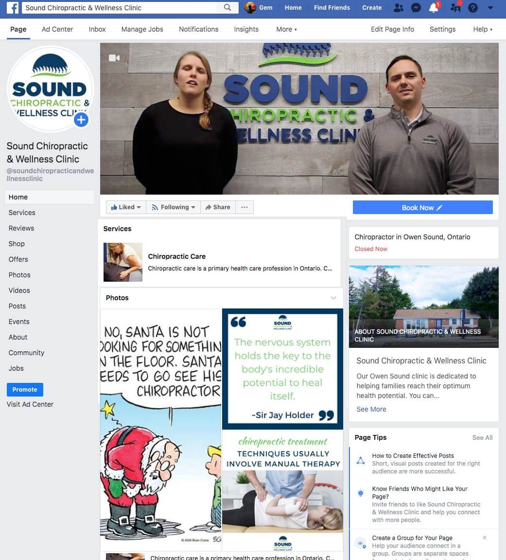 Chiropractor-social-media-posting