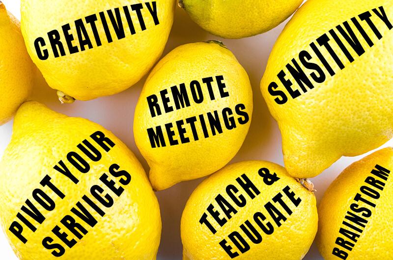 coronavirus marketing solutions lemons