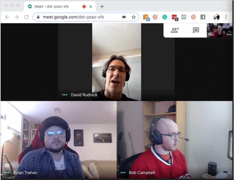Computer virtual client meetings