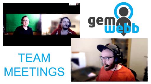 company video call meetings